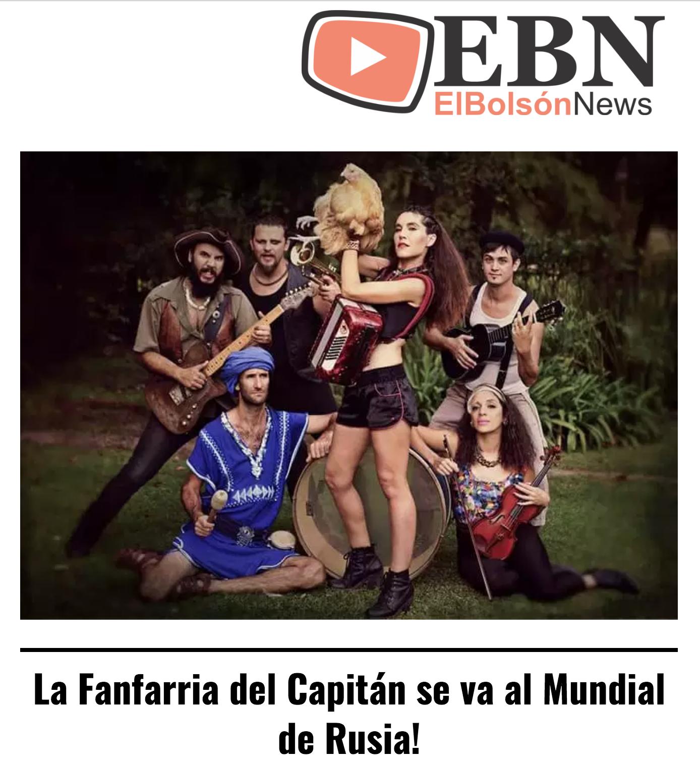 EL BOLSON NEWS