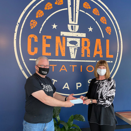 Central Station Taps Gives Back to Beaverton Arts