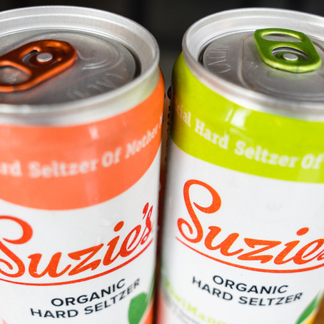 Suzie's Hard Seltzer Tasting   Aug 12th 4-7pm
