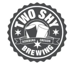 Two Shy Brewing Logo Roseburg Oregon