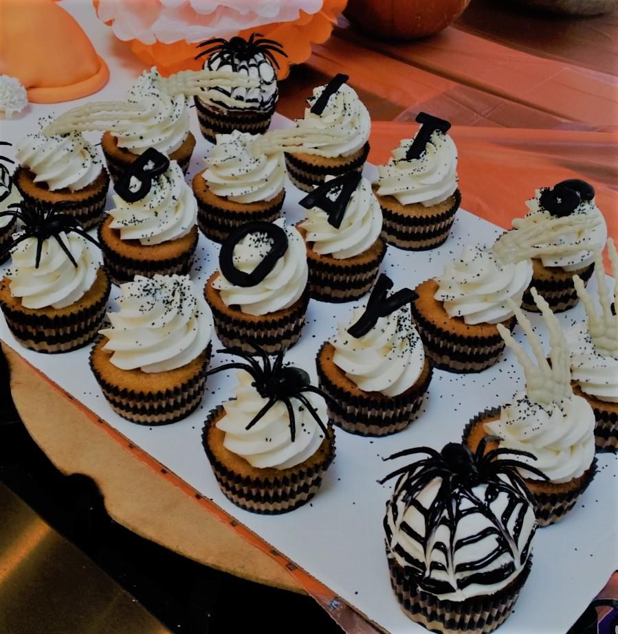 Halloween Cupcakes North Carolina BlueSodaCake