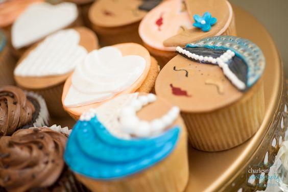 Bridal Cupcakes North Carolina BlueSodaCake