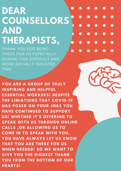 Poster, Sarina Sandhu: Therapists and Counsellors