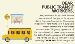 Poster, Sarina Sandhu: Transit workers
