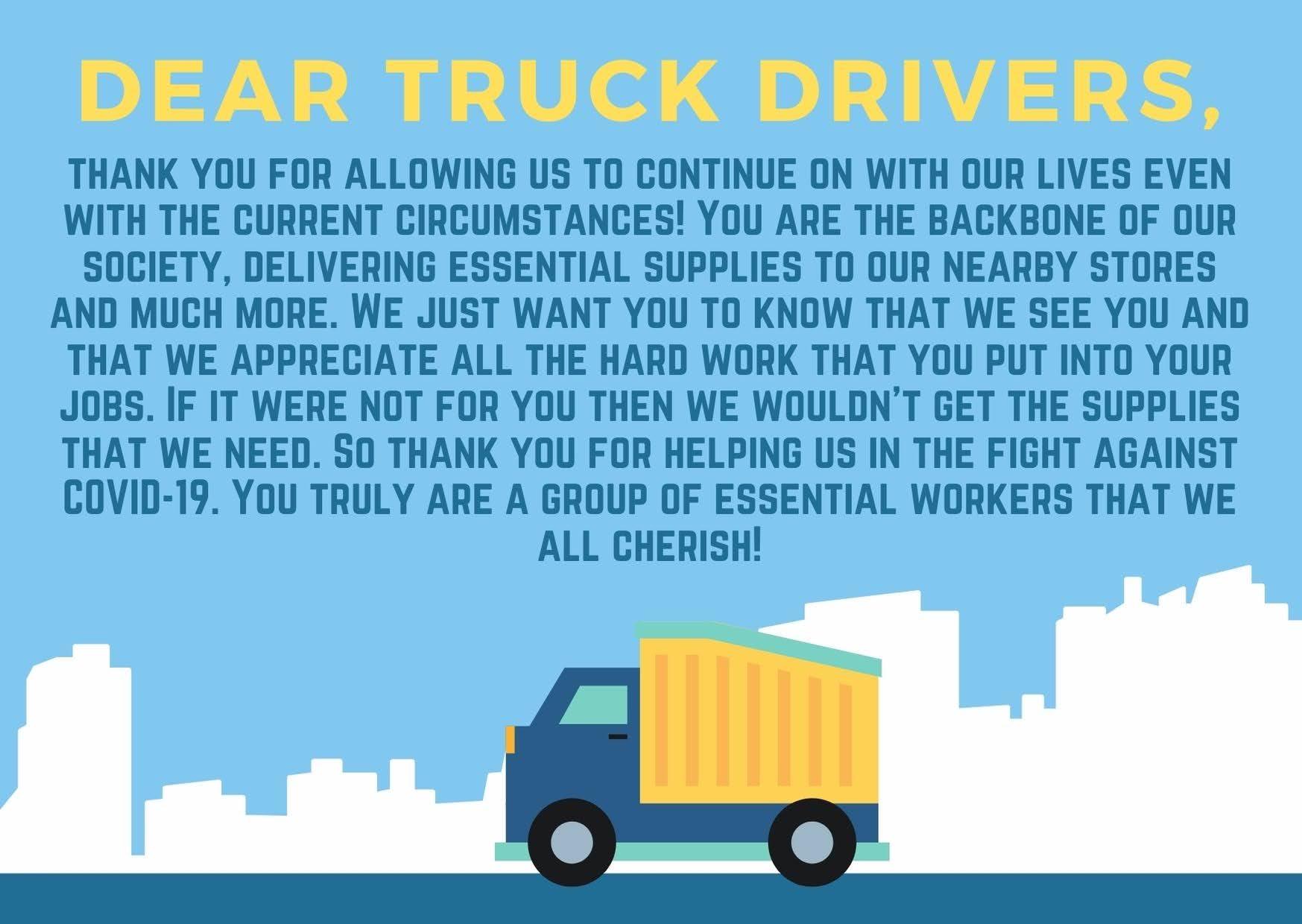 Poster, Sarina Sandhu: Truck Drivers