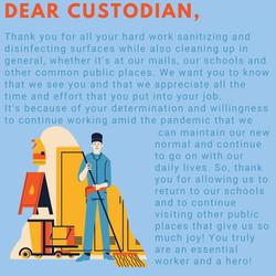 Poster, Sarina Sandhu - Custodial Workers