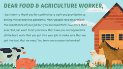 Poster, Sarina Sandhu - Food & Agriculture Workers