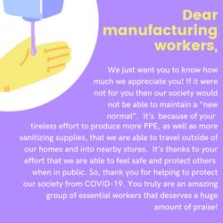 Poster, Sarina Sandhu: Manufacturing Workers