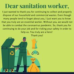 Poster, Sarina Sandhu - Sanitation Workers