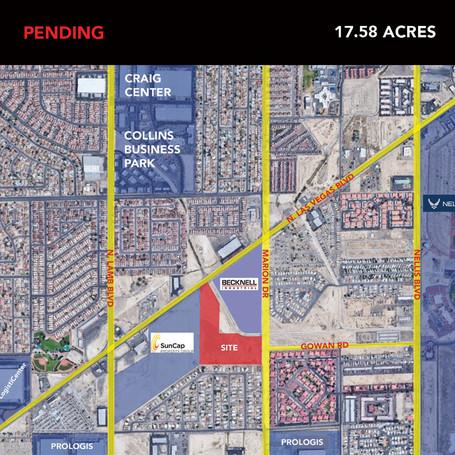 17.58 Acres on N. Las Vegas Blvd.