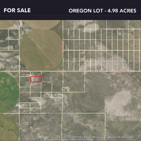 4.98 acres in Oregon State