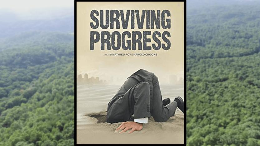 """Surviving Progress"" Cover"