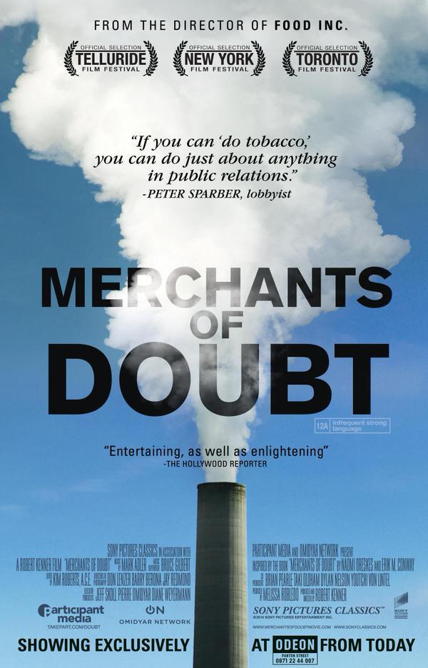 """""""Merchants of Doubt"""" Cover"""