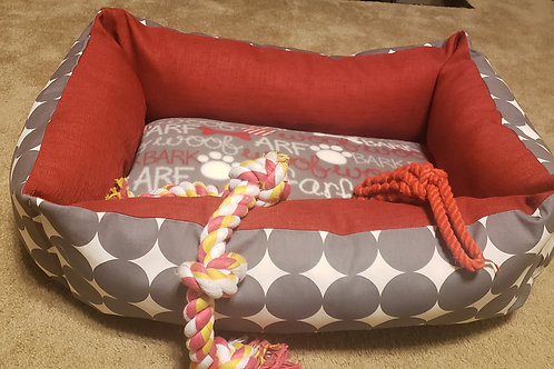 Square Pet Bed - This bed can be customized