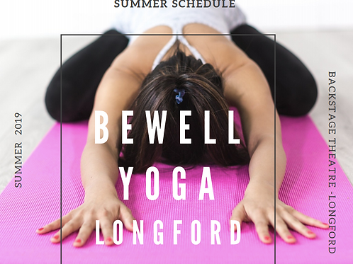 BeWell Yoga Longford Summer Sessions (10 Class Pass)