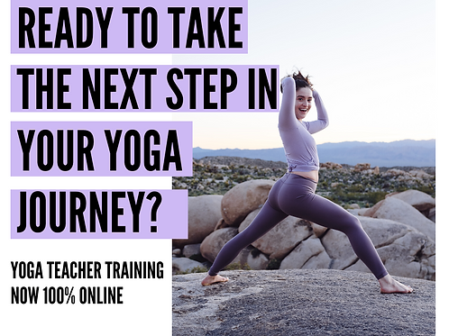 200 Hours Yoga Teacher Training - Online