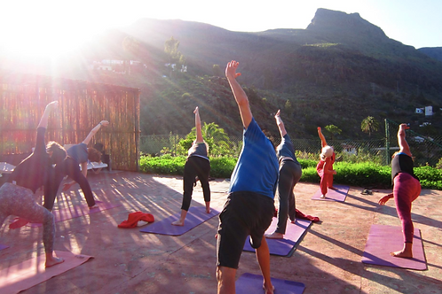 YOGA HOLIDAY TO GRAN CANARIA