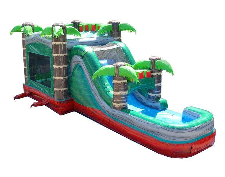 Mega Bounce House Combo Wet.jpg
