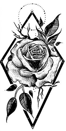 Flower Lozenge