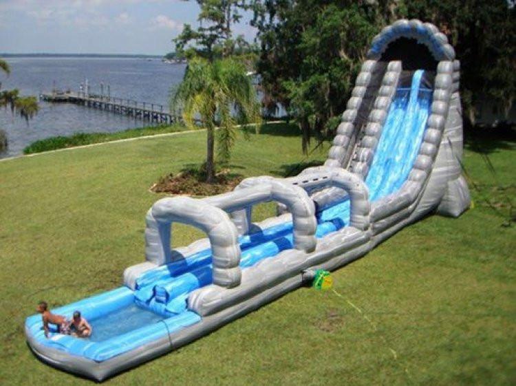 22' Roaring River Water Slide Bounce Around Inflatables NKY.jpg