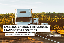 Using ML to tackle transport carbon emissions