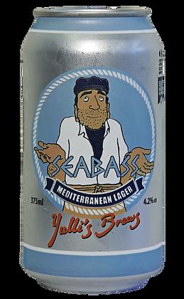 Seabass Mediterranean Lager 4.2%