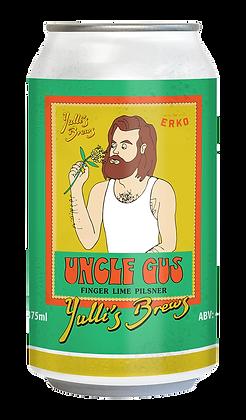 Ungle Gus Finger Lime Pilsner 4.5% - 16 PACK