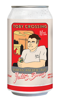 'Toby Crossing' Indian Pacific Ale 5.7%