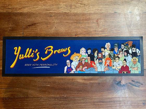 Yulli's Brews Bar Mat