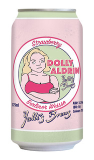 Dolly Aldrin Strawberry Berliner Weisse