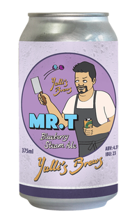 Mr. T Blueberry Steam Ale
