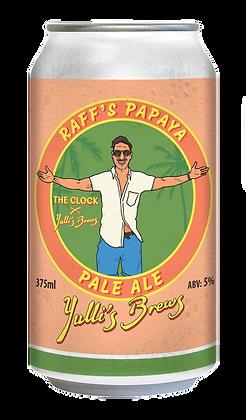 Raff's Papaya Pale Ale 5% - 16Pack