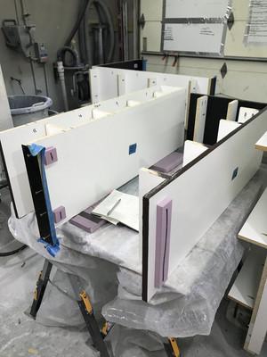 Concrete Wall Table Mold Pieces