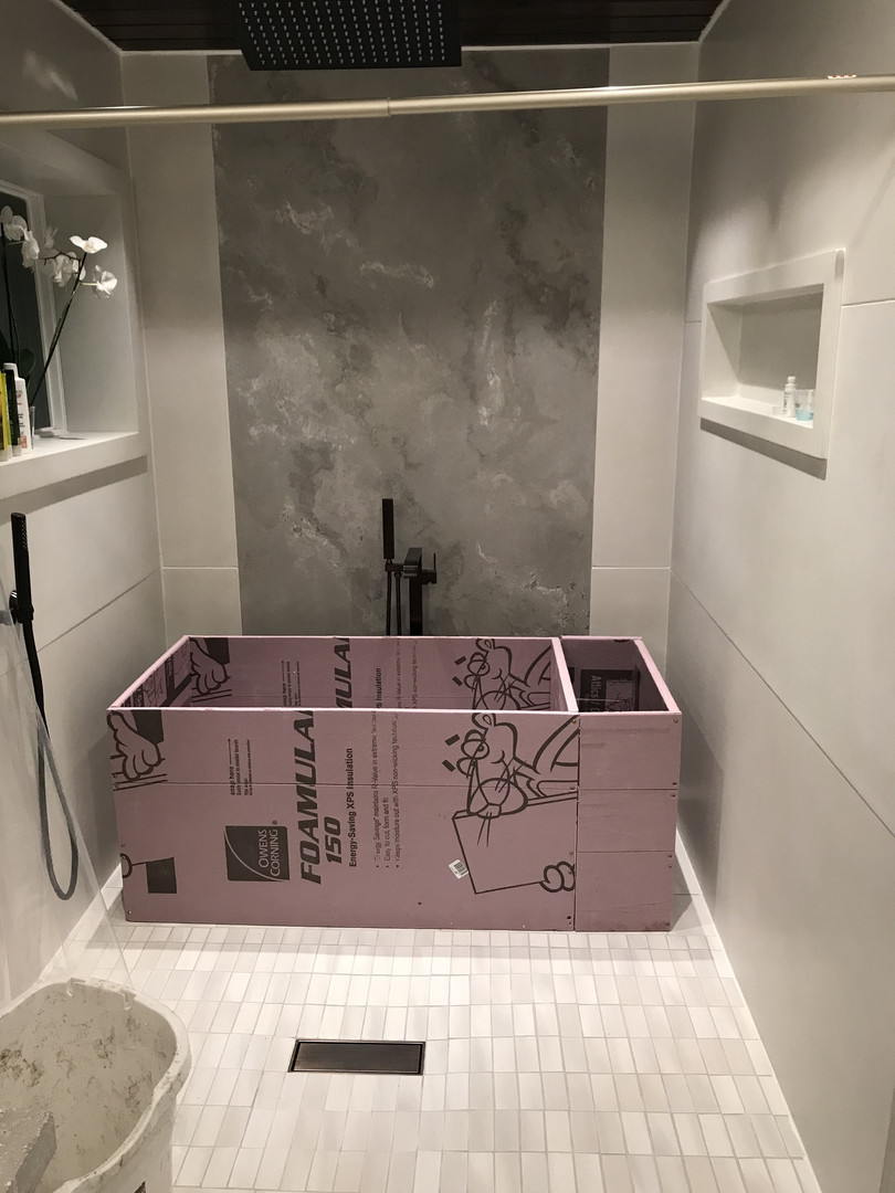 Foam Model For Concrete Bathtub Dimensions