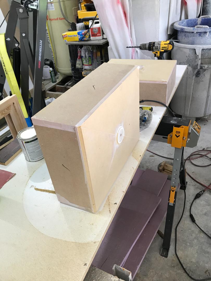 Concrete Sink Mold - Rough