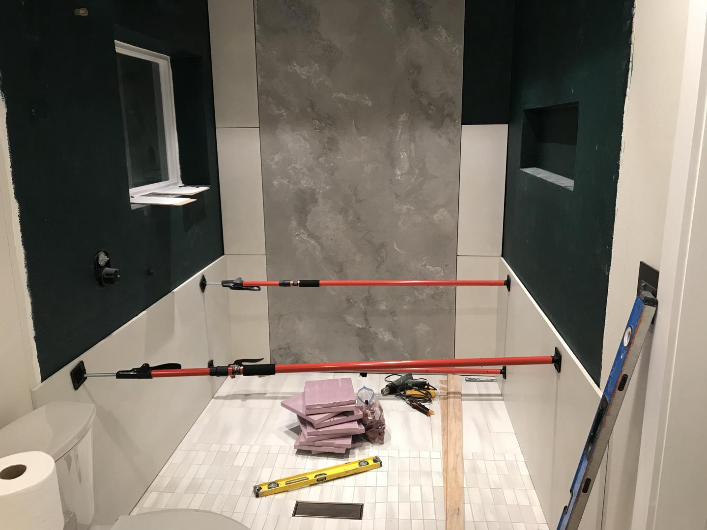 Bottom Concrete Wall Panels For Master Bathroom Wet Room