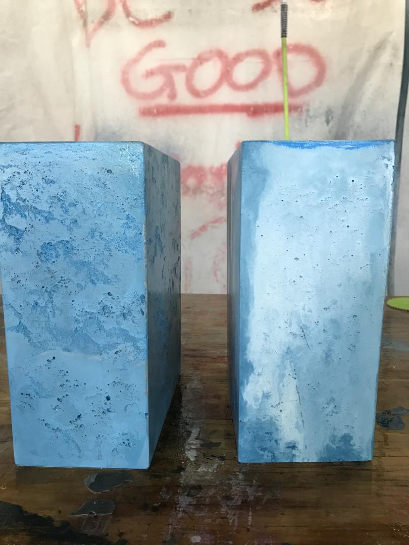Concrete Lamp Base - Attempt Comparison