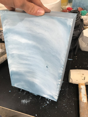 Concrete Lamp Base - 3rd Attempt