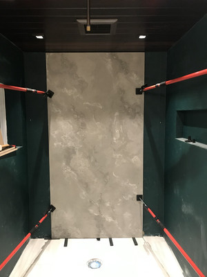 Concrete Wall Panel For Accent Wall - Install