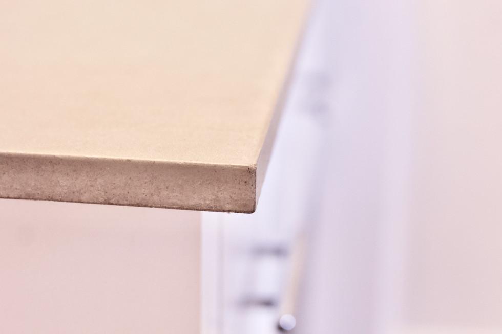 Concrete Vanity Top - Detail Shot