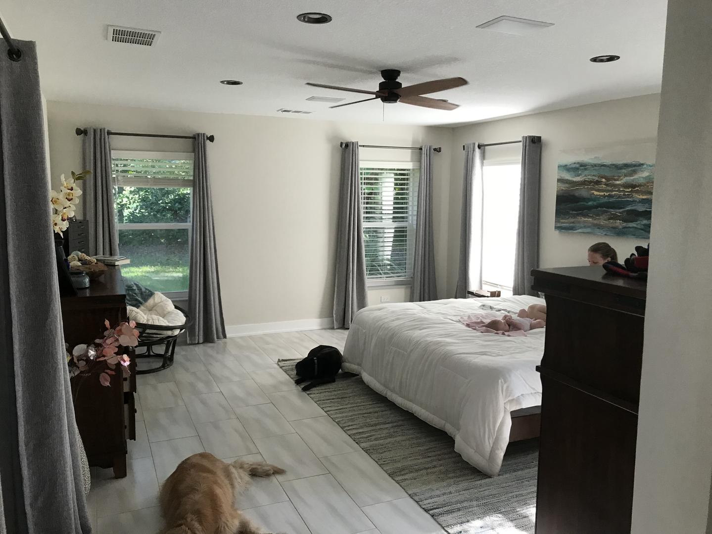 Master Suite - During