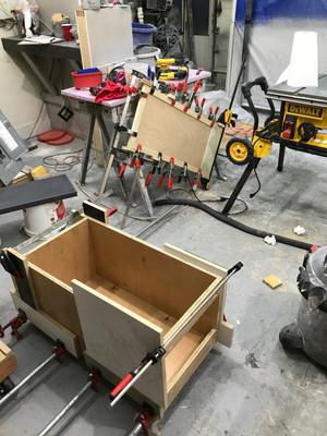 Cabinet Box Assembly