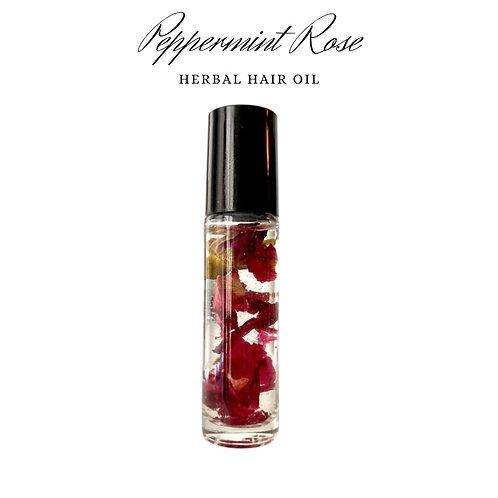 Peppermint Rose Scalp Oil