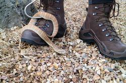 The Snake Hunter wearing Lowa Boots