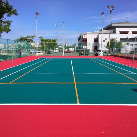 Plastic Court Tiles for Hatillo, Puerto Rico