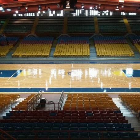 Wood Flooring & Spectator Seating for Caguas, Puerto Rico