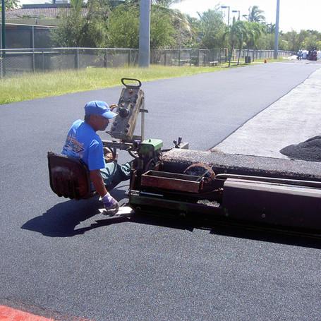 Athletic Running Track Installation for San Juan