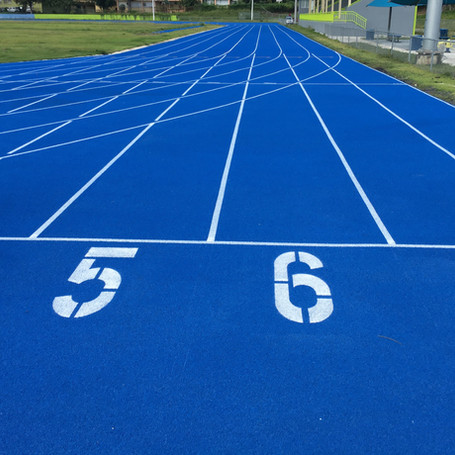 Blue Running Track for Lares