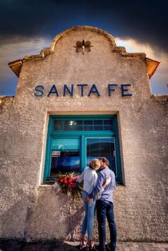 Amara and Chet Santa Fe Wedding, New Mex