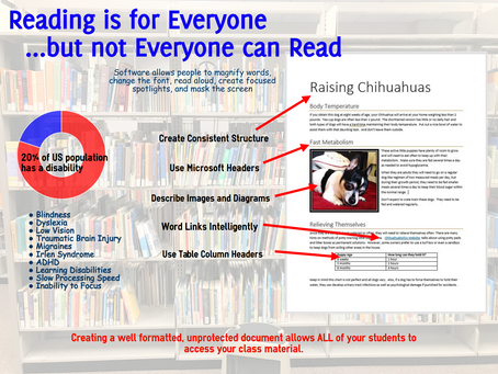 Accessible Documents Infographic